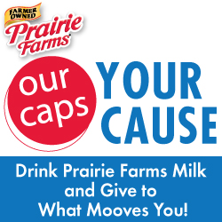 Prairie Farms milk caps