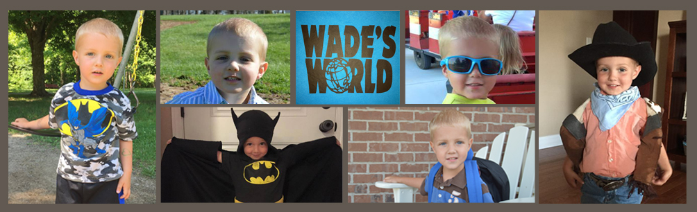 Wade's World collage strip